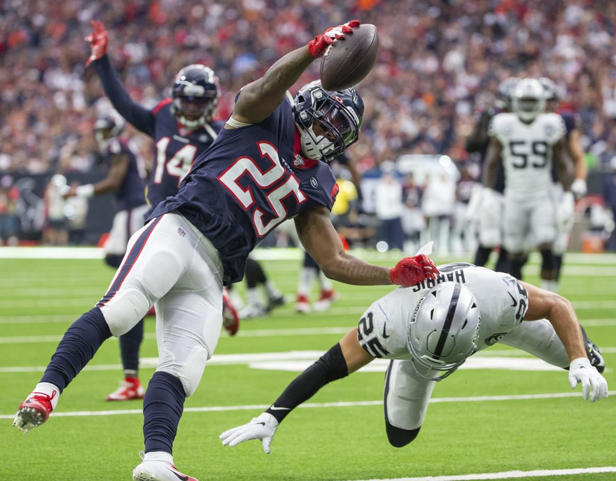 Houston Texans vs Oakland Raiders Football