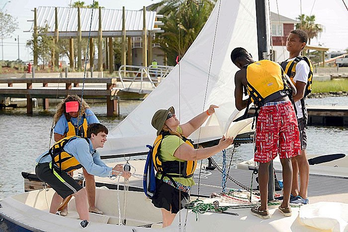 Sailing for students