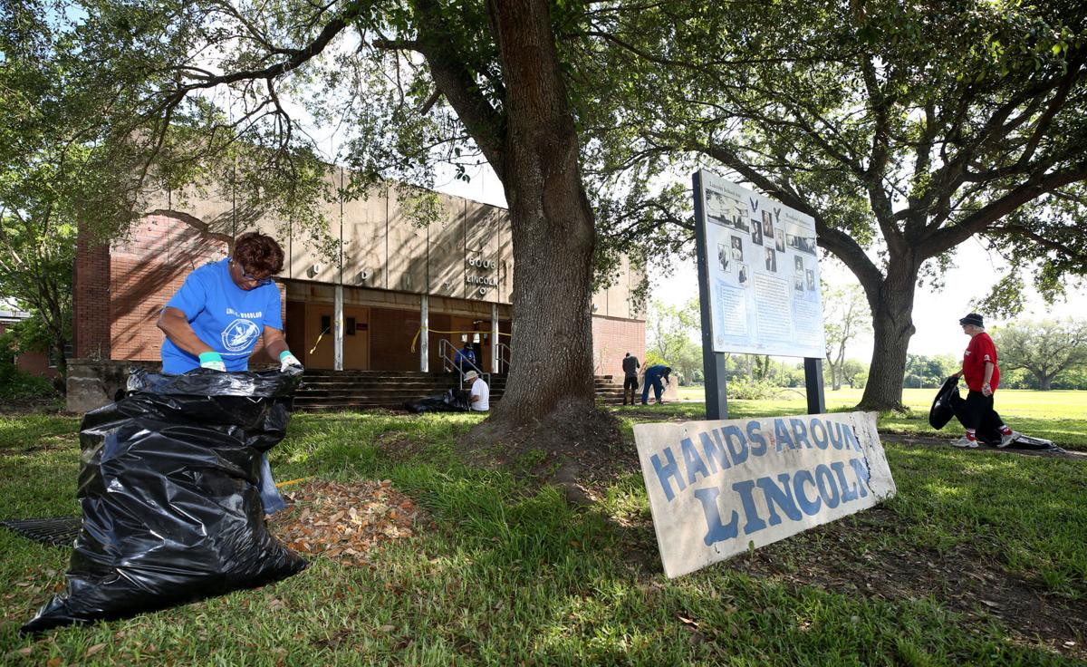 Clean up held at old Lincoln Auditorium in Texas City