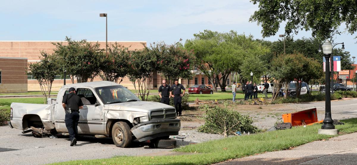 Rollover crash kills one, injures three in Texas City
