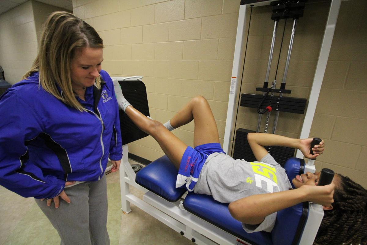Dickinson ISD athletic training program