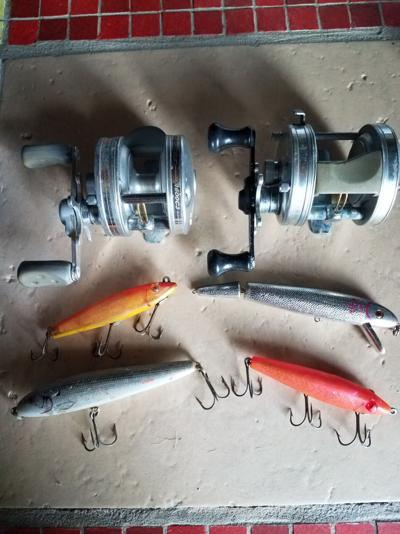 Old fishing gear