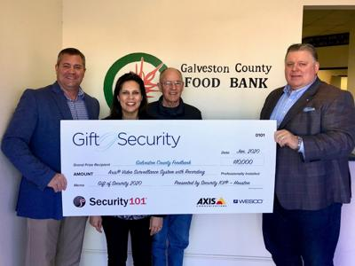 County food bank wins security system