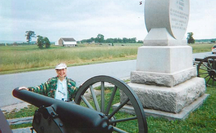 Visit to Gettysburg brings song lyrics to mind