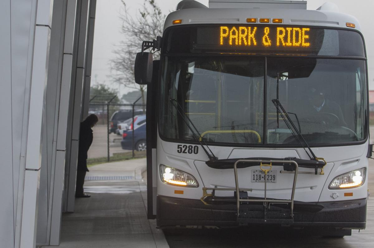 Galveston to Houston bus service delayed