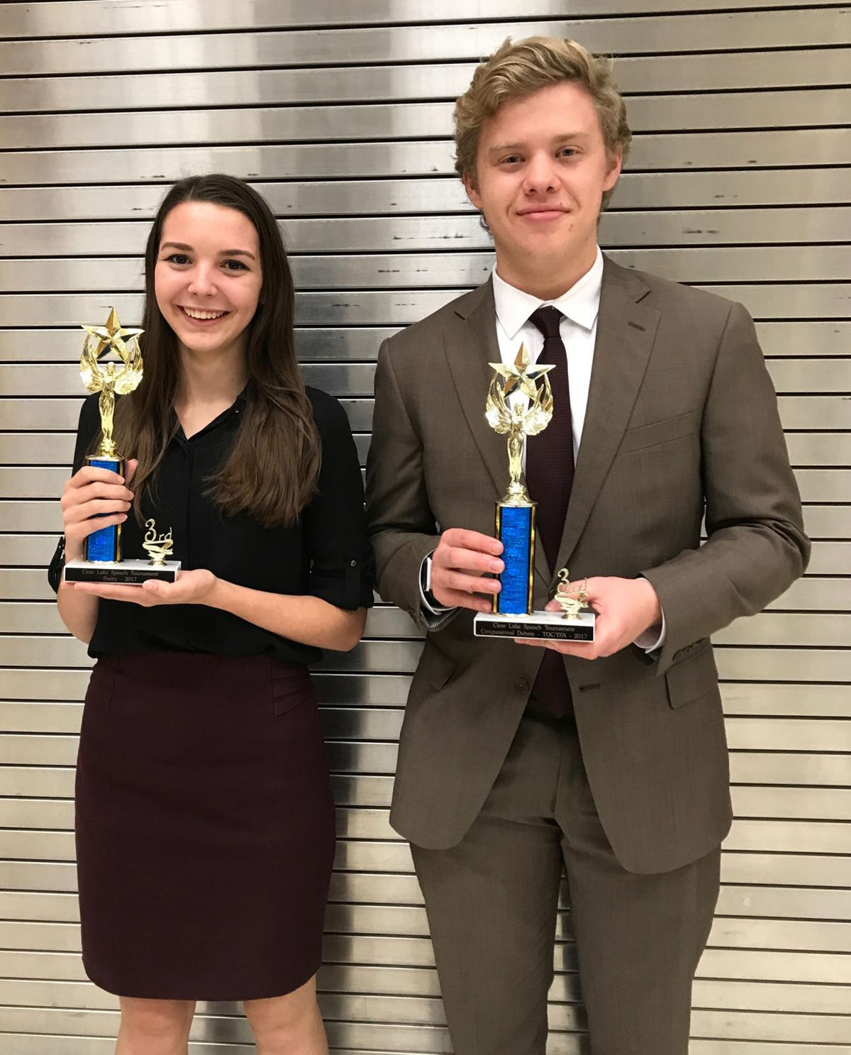 FHS places at the speech and debate tournament