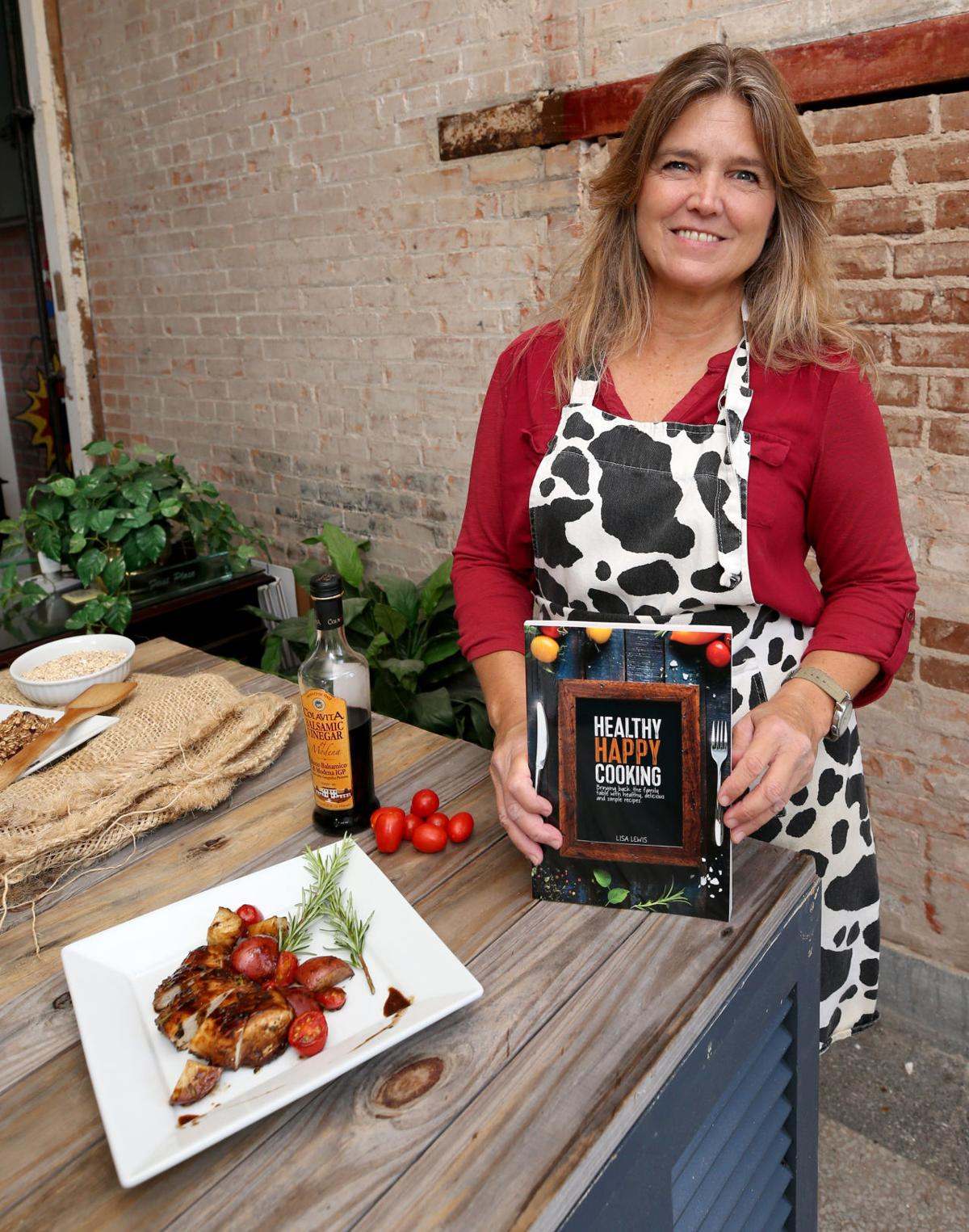 Island author's cookbook focused on easy, nutritious meals