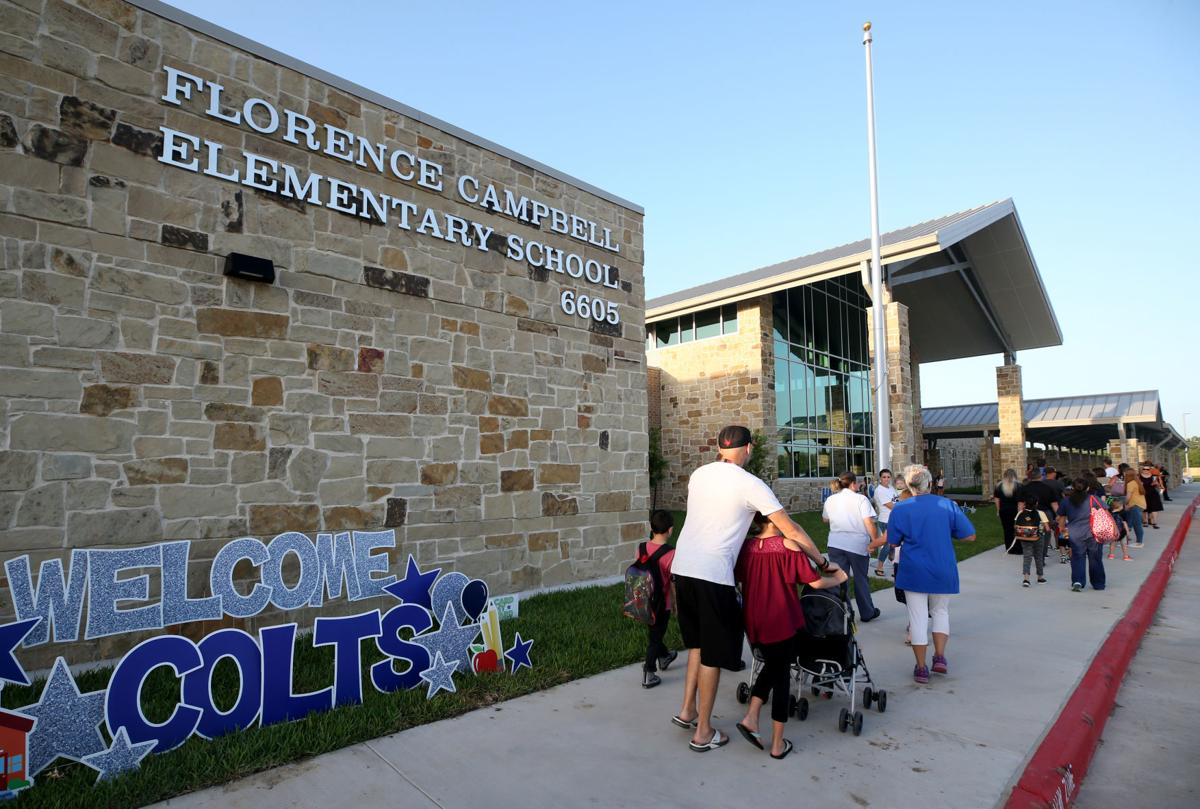 First day of school for two new League City campuses