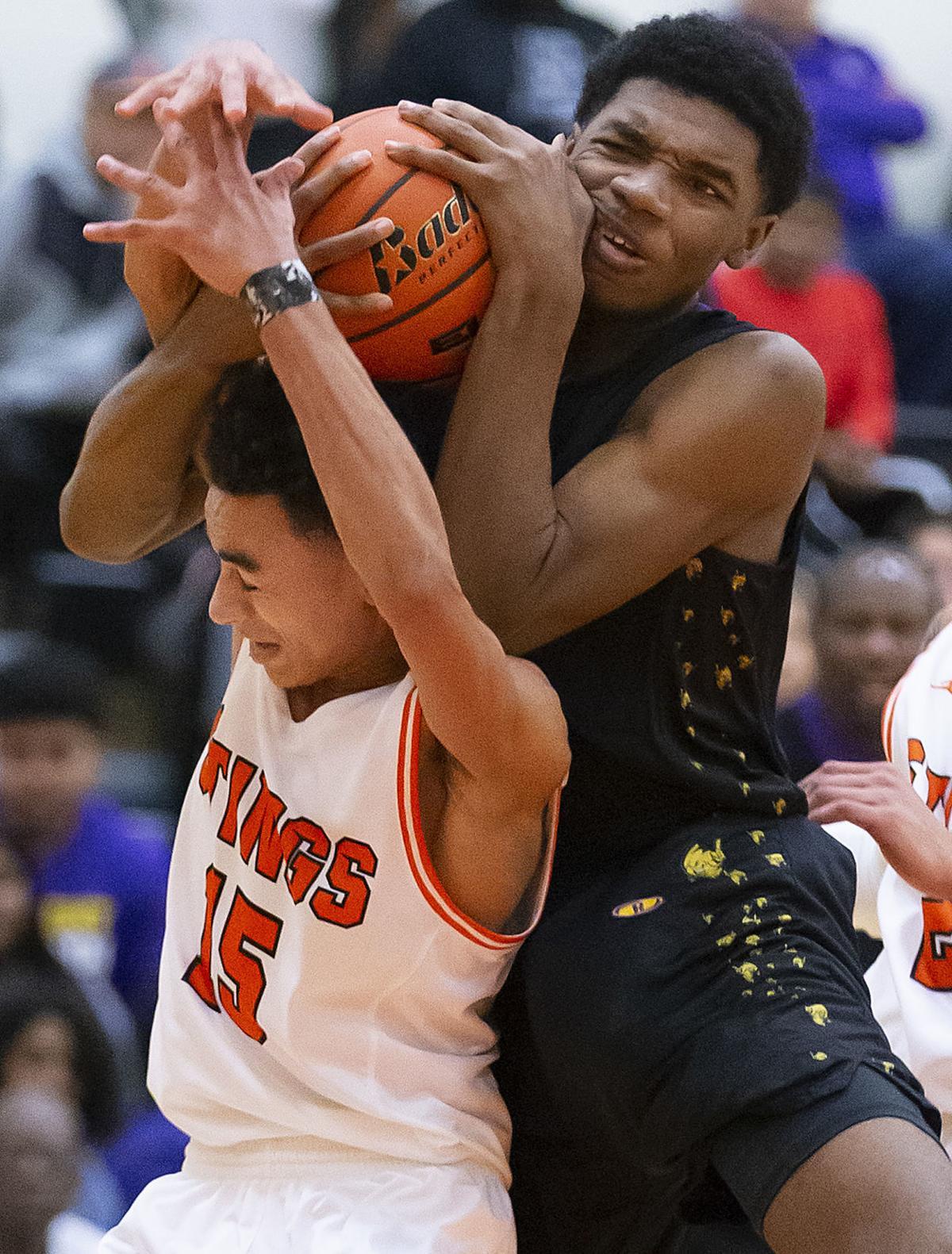 Ball High vs Texas City Boys Basketball