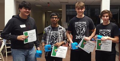 2019 STEM Challenge winners