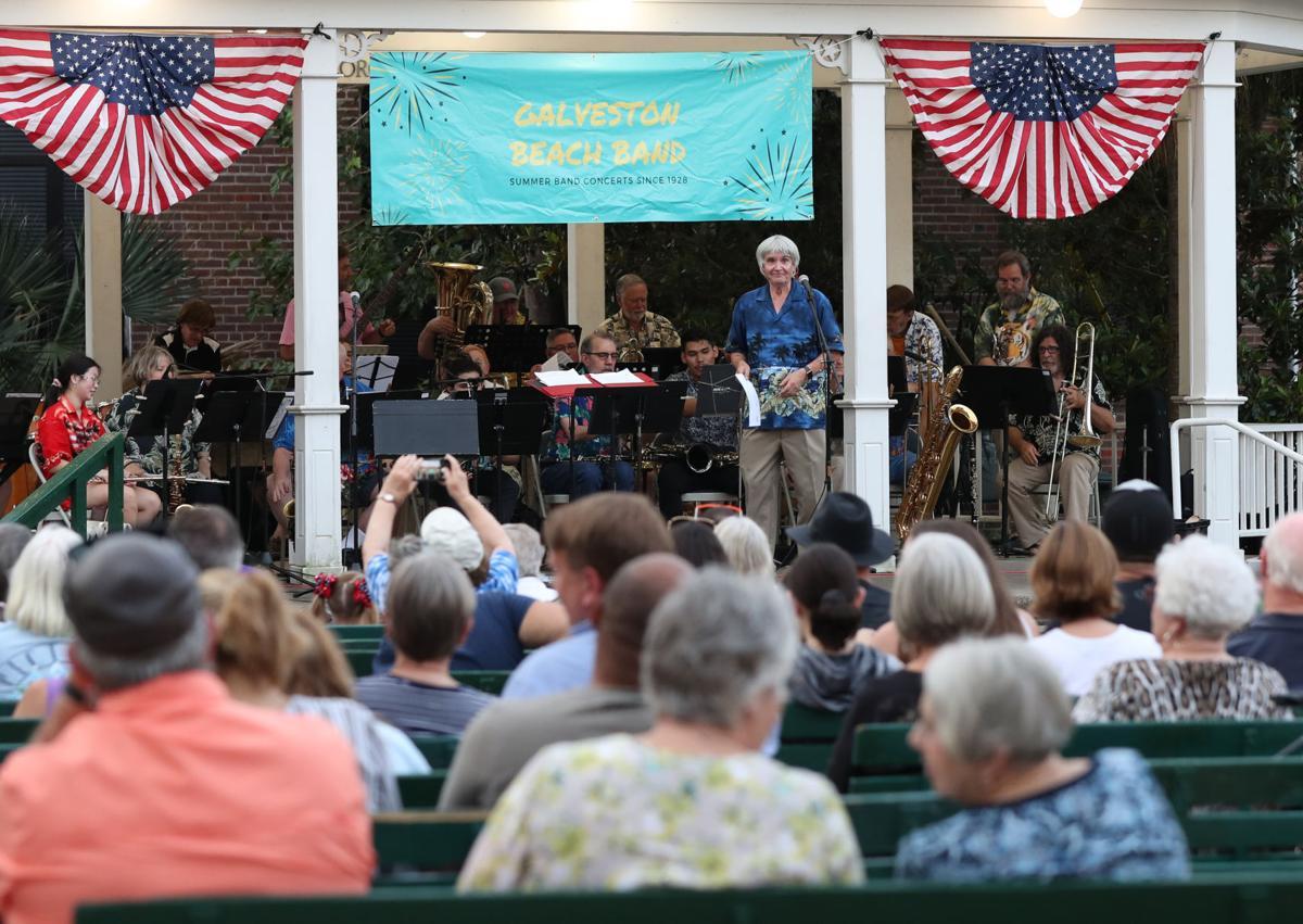 Galveston Beach Band strikes up a tune, kicking off summer series