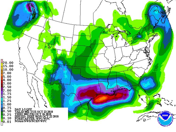 3-day precipitation outlook