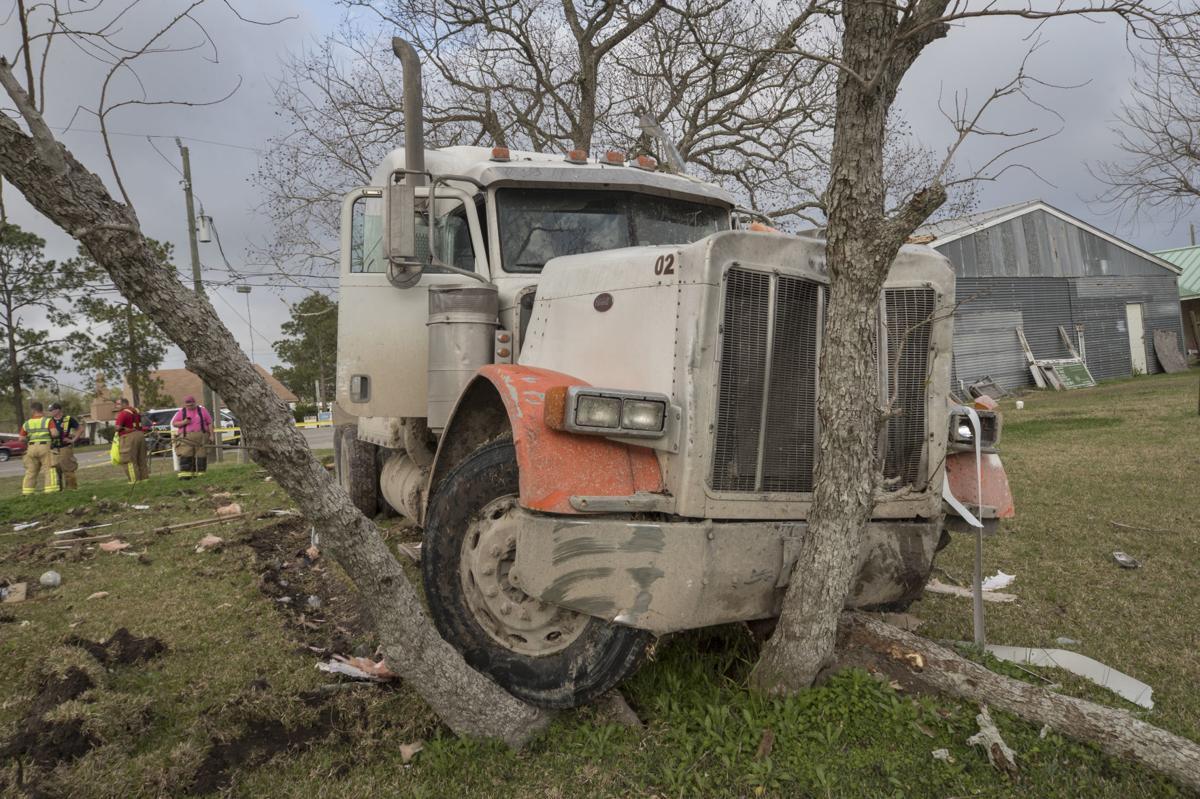 Church Hit by Truck