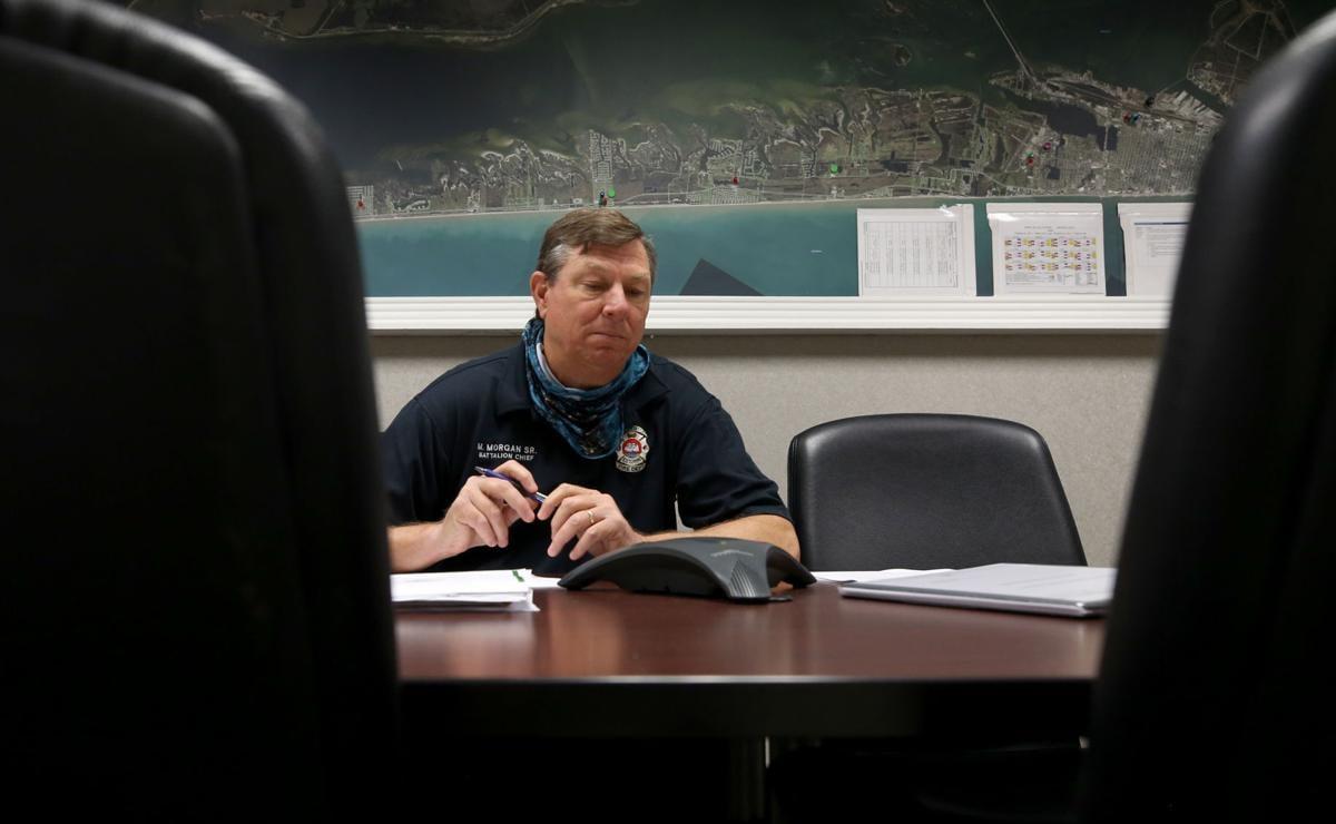 Emergency managment office adapting hurricane plans to pandemic
