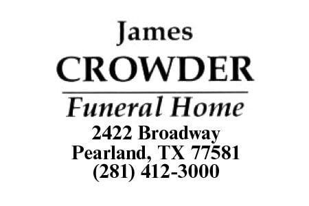 James Crowder Pearland