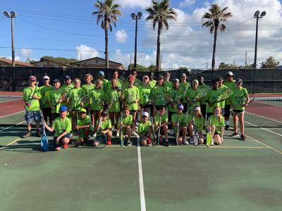 Team Galveston tennis