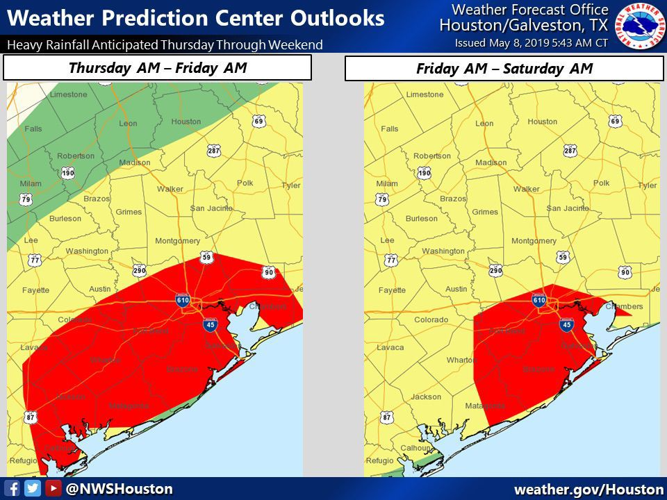Weather Prediction Center Outlooks