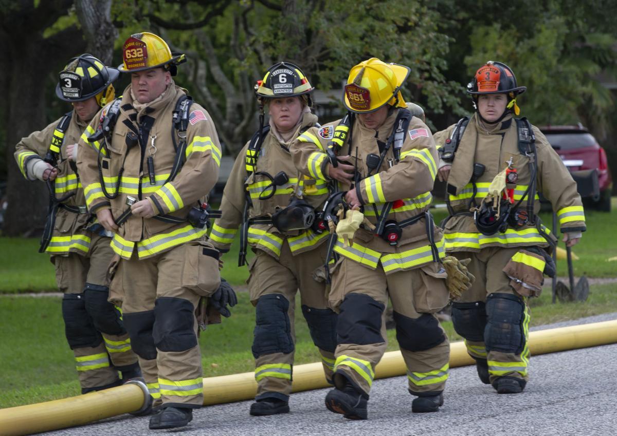 League City House Fire