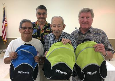 Kiwanis Club of Galveston donates backpacks