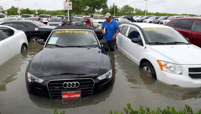 Car Dealerships Hit Hard By Flooding News The Daily News