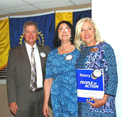 Rotary Club of Galveston welcomes new member