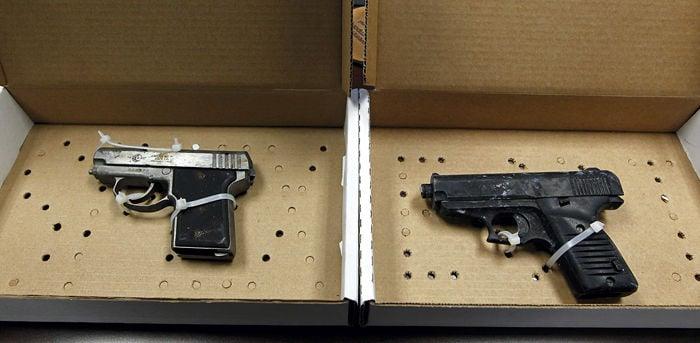 Old guns found in jail building