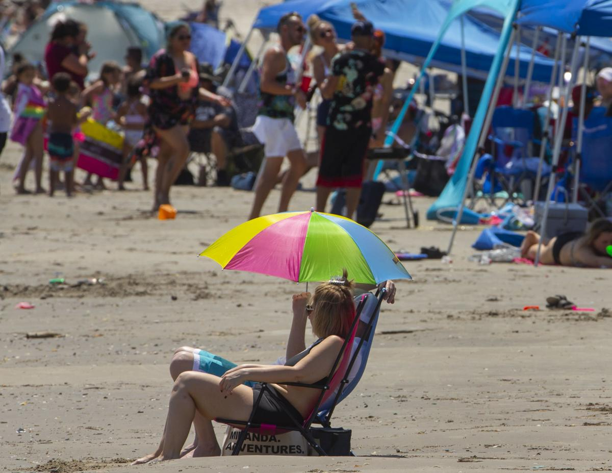 Beach Tourists