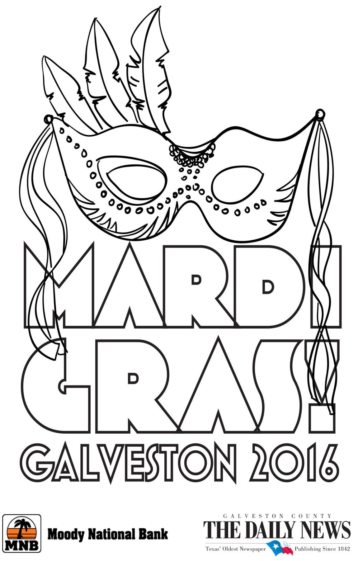 Mardi Gras Coloring Contest 2016 | Mardi Gras | The Daily News