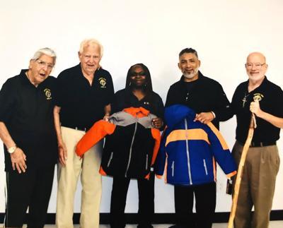 Knights of Columbus donates coats