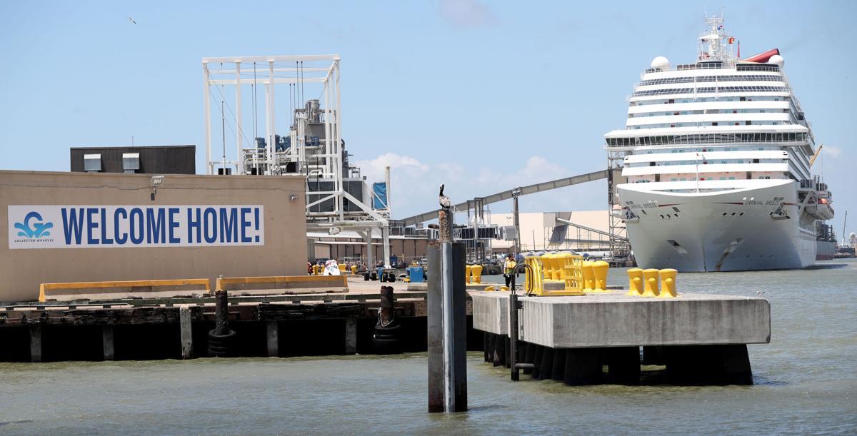 Cruise ships return to Galveston