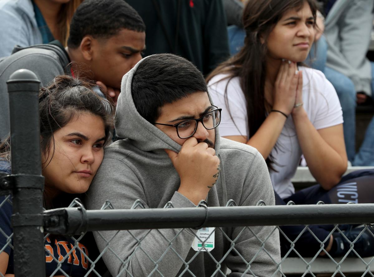 Texas City High School students participate in nationwide 'walkout'