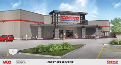 Costco Webster Rendering