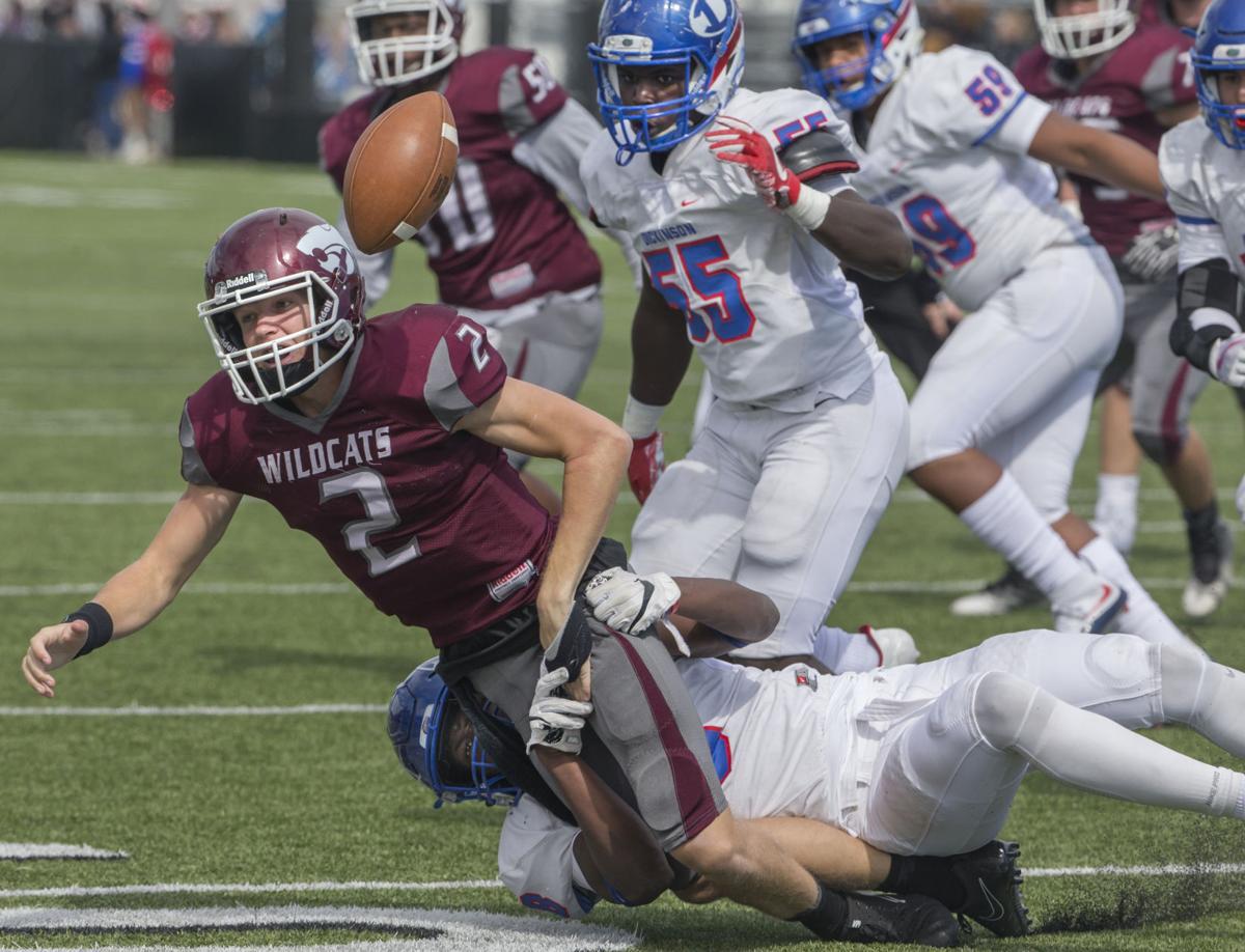 Clear Creek vs Dickinson Football