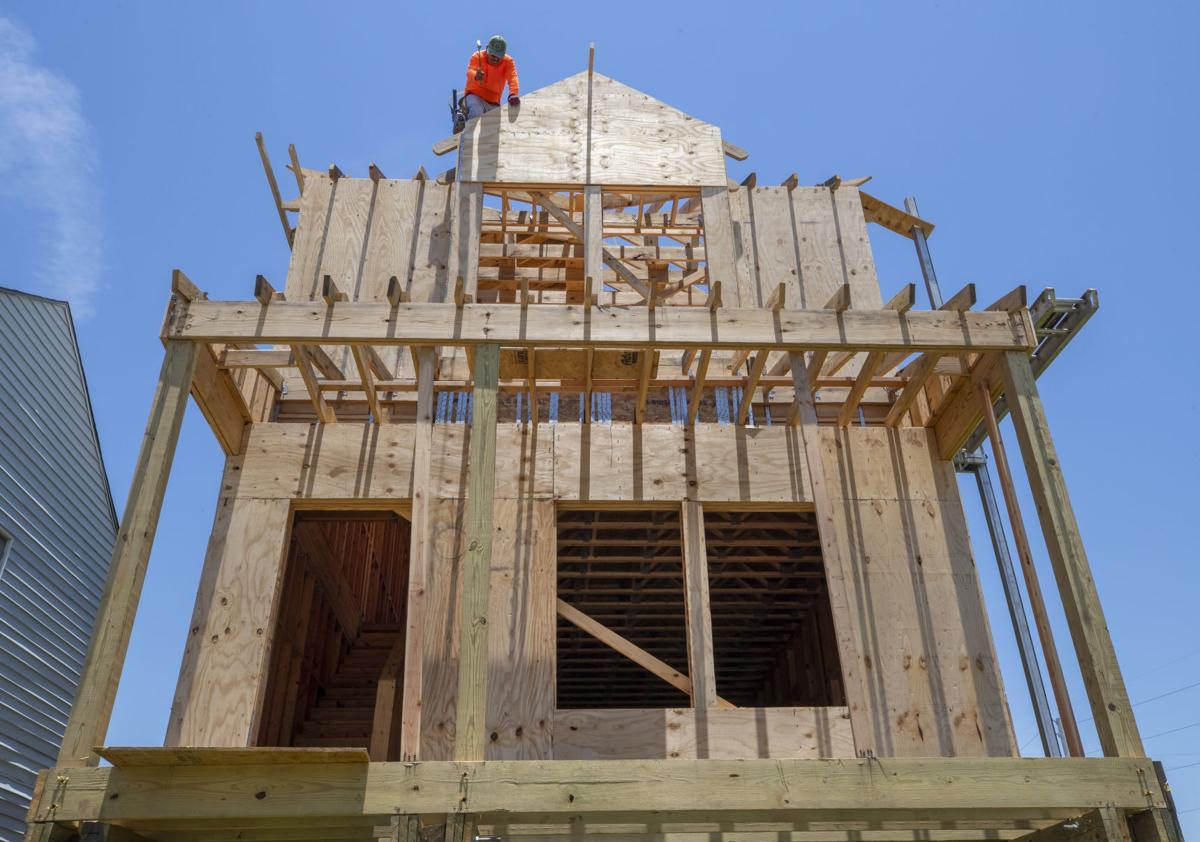 Galveston Housing Construction