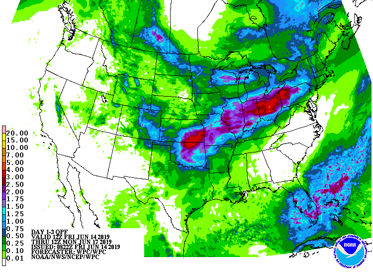 Day 1-3 Quantitative Precipitation Forecast