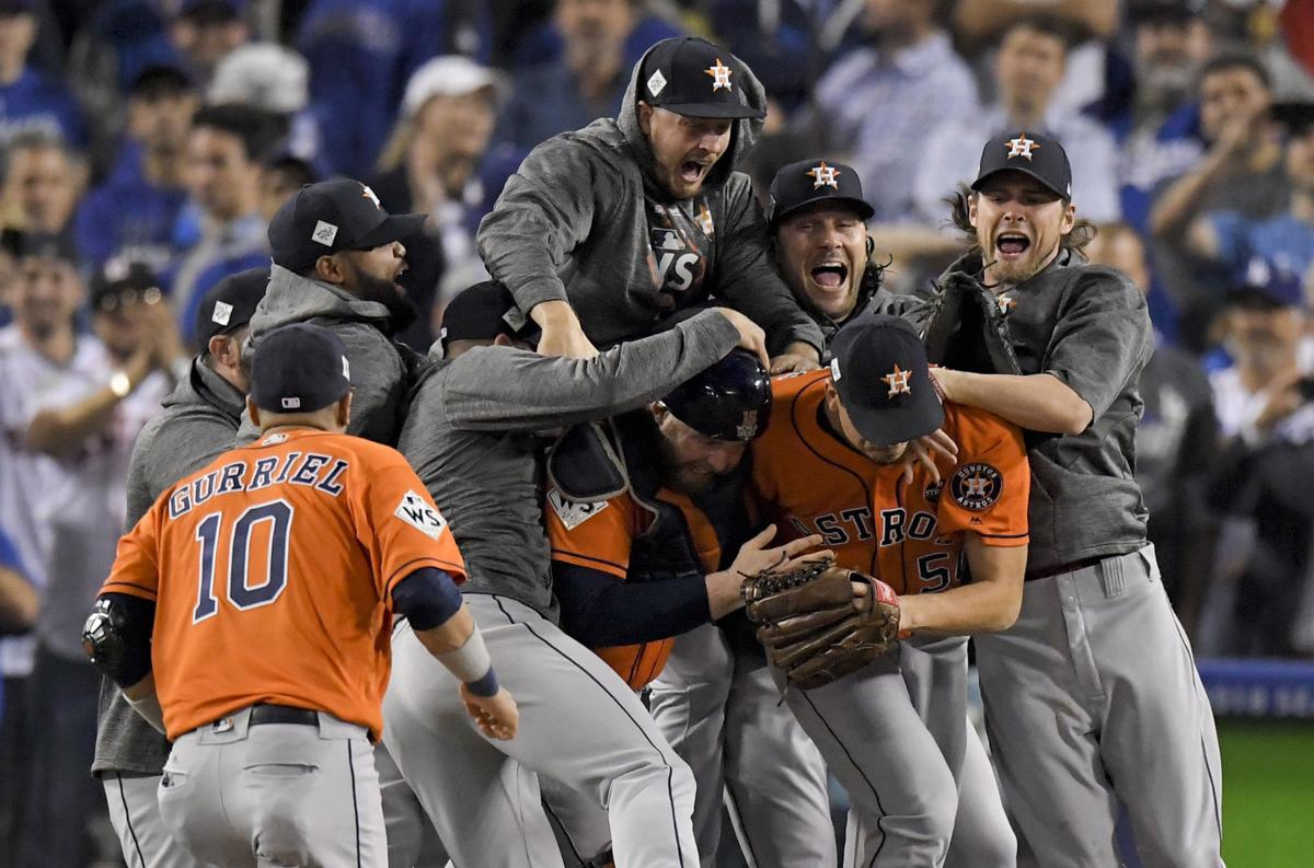 World Series Astros Dodgers Baseball