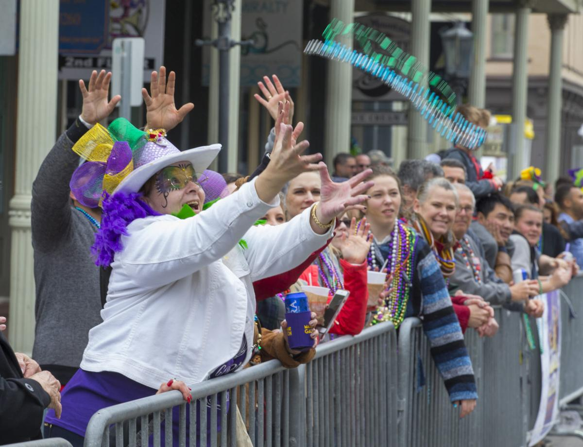 2018 Galveston Mardi Gras First Saturday