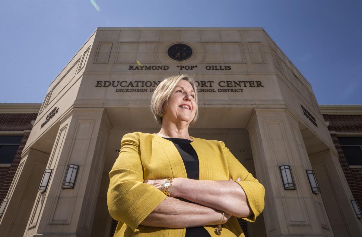 Dickinson ISD Superintendent Vicki Mims