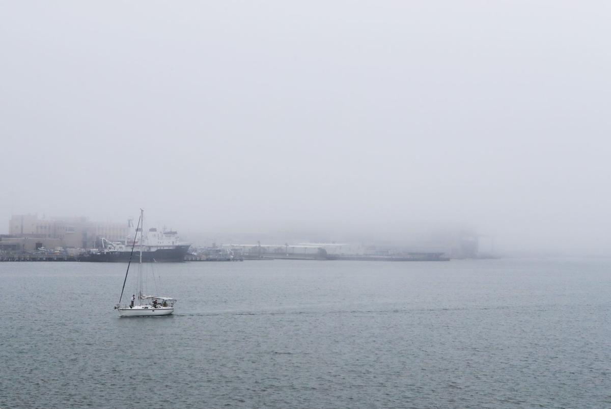 Fog delays