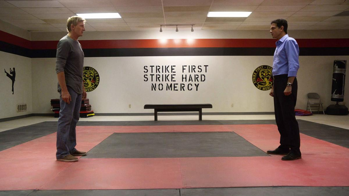 """TV Review - """"Cobra Kai"""" looks to sweep the leg on YouTube Red"""