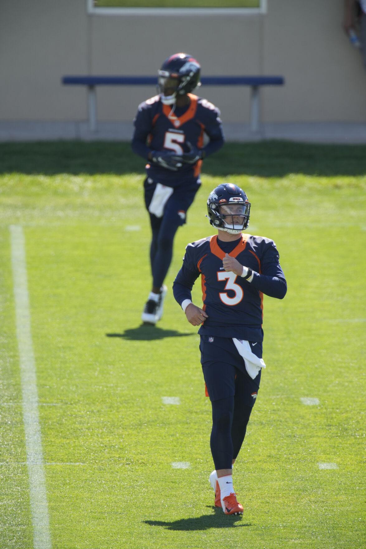 Broncos Camp Football Lock Bridgewater