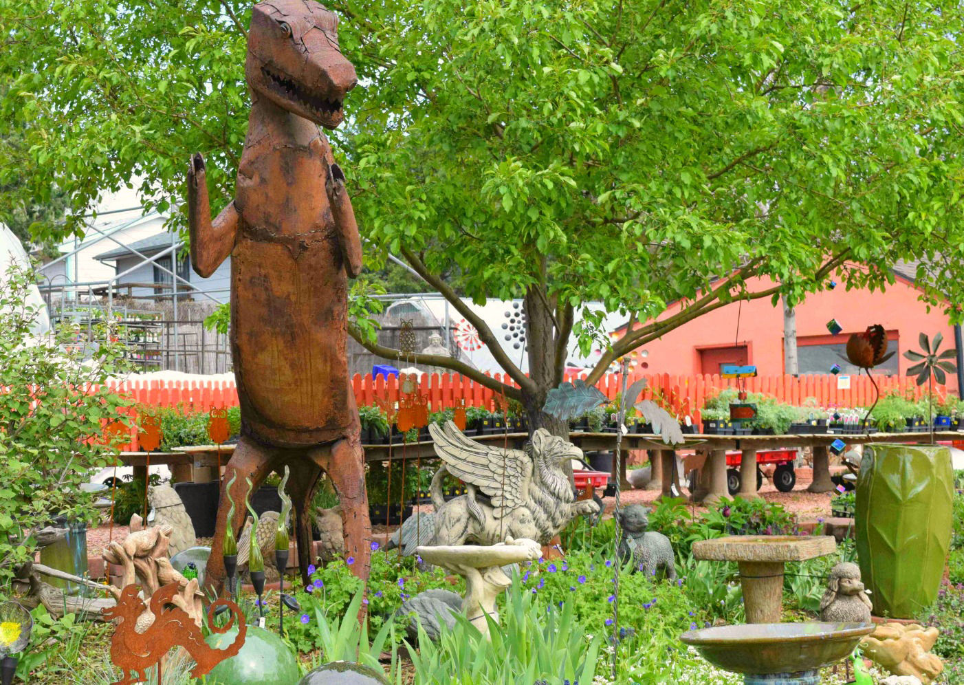 Traditional To Eccentric, Good Earth Garden Center Fits The Bill