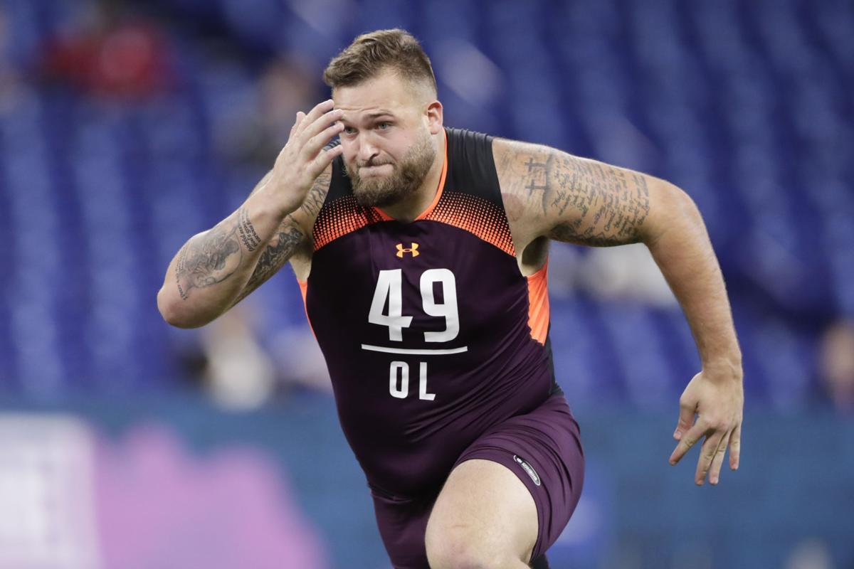 NFL Draft Dalton Risner Football