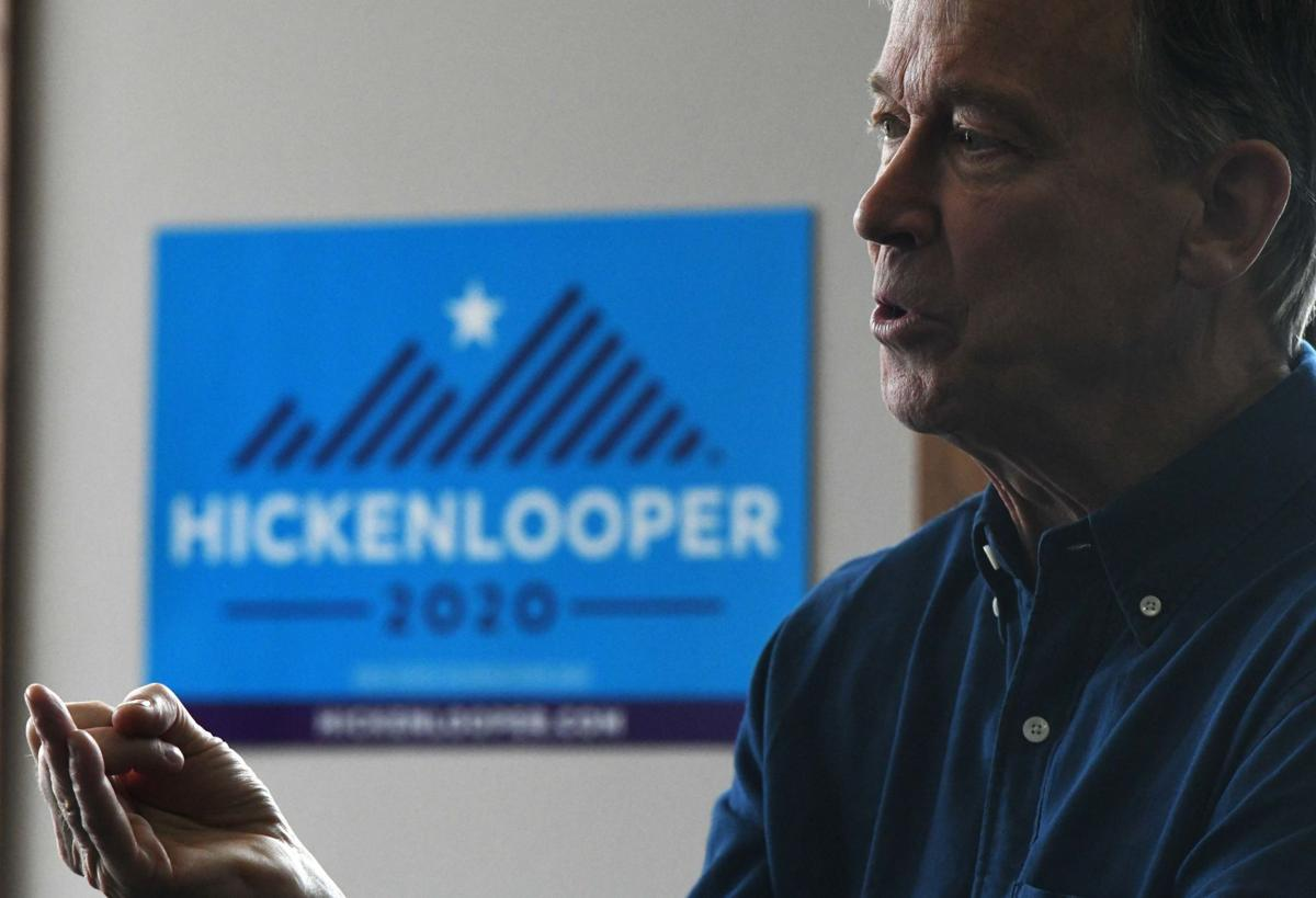 Hickenlooper Stumps in Iowa