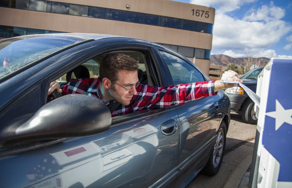 Western Colorado Springs voters are turning in their ballots faster than others