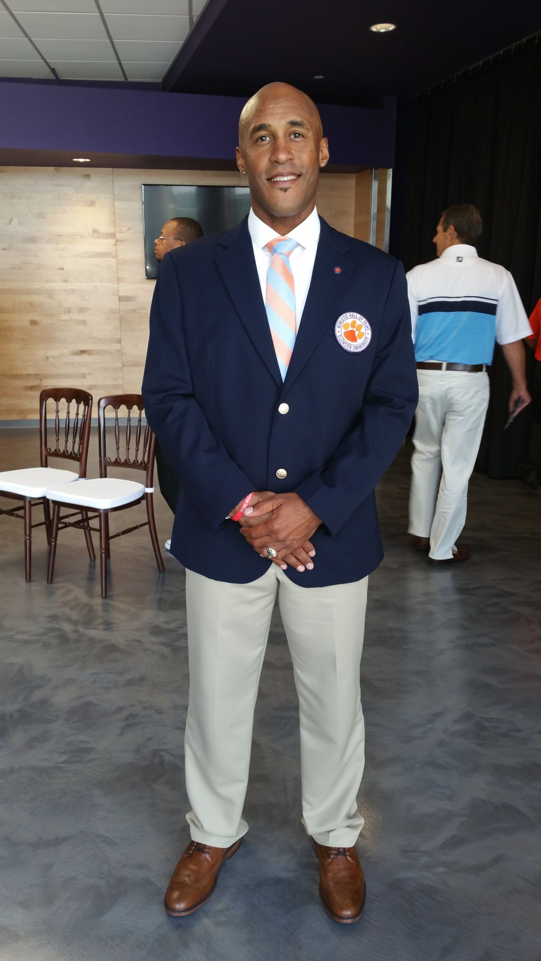 Switchbacks FC Assistant Coach Wolde Harris, 2017 Inductee to Clemson Hall of Fame