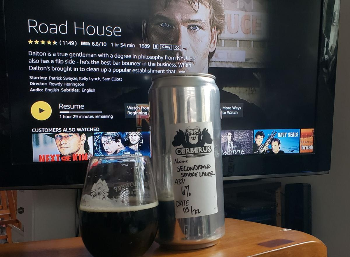 "Beer and a movie: Secondhand Smoke lager, from Cerberus, and ""Road House"""