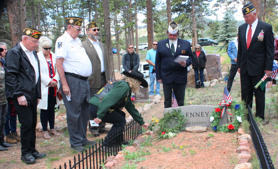 American Legion honors America's fallen heroes at Memorial Day ceremony