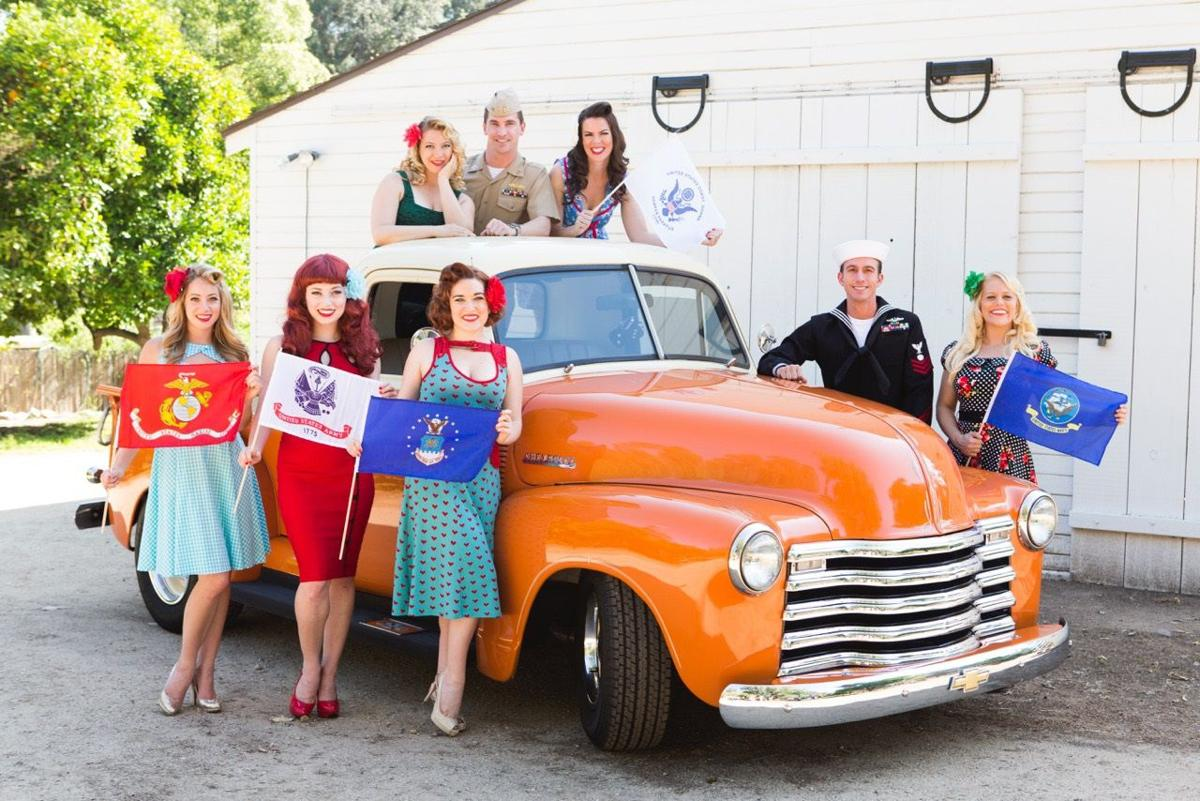 Pin-Ups on Tour brings free USO show to Colorado Springs vets, military