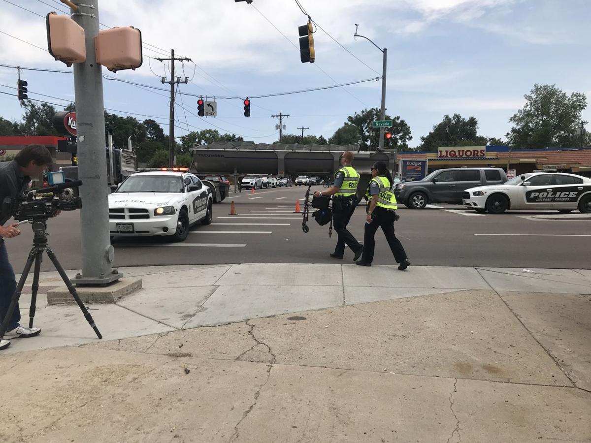 Friday's traffic: Auto-pedestrian crash reported on Nevada